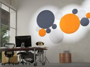 Woolbubbles - acoustic decorative panel